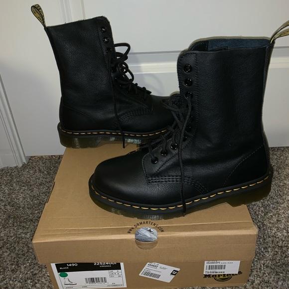 d28d2836054 Dr. Martens Shoes | Dr Martens 1490 Virginia Boots Size 8 | Poshmark
